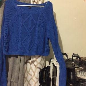 Blue Express sweater
